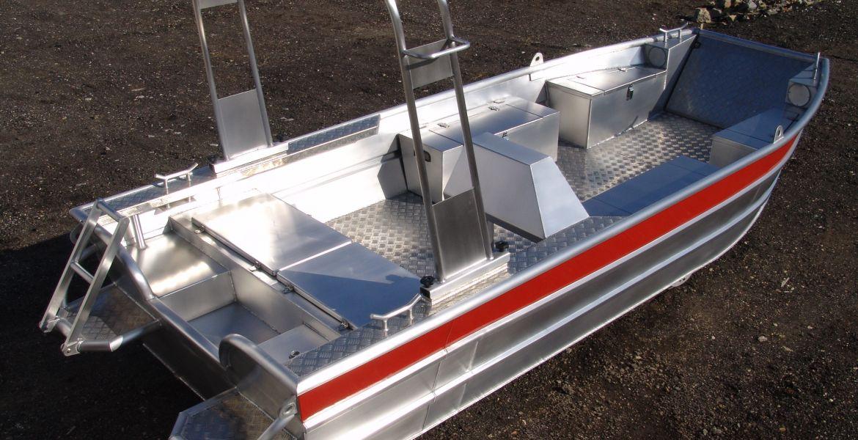 Aluminium Arbeitsboote
