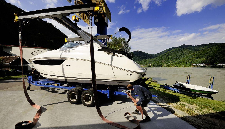 Krananlage Meyer Bootswerft