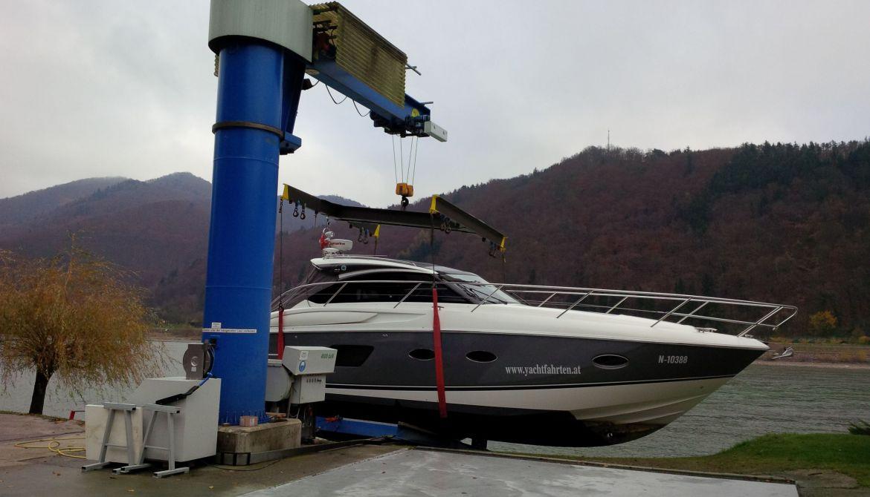 Krananlage Meyer-Bootswerft