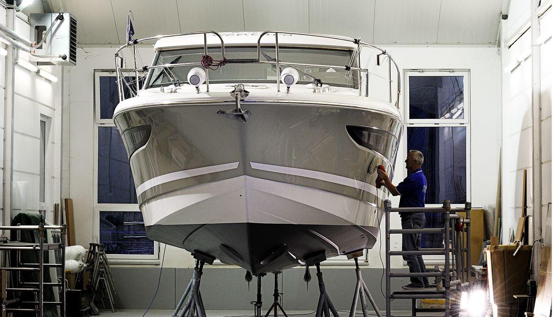 Bootsaufbereitung