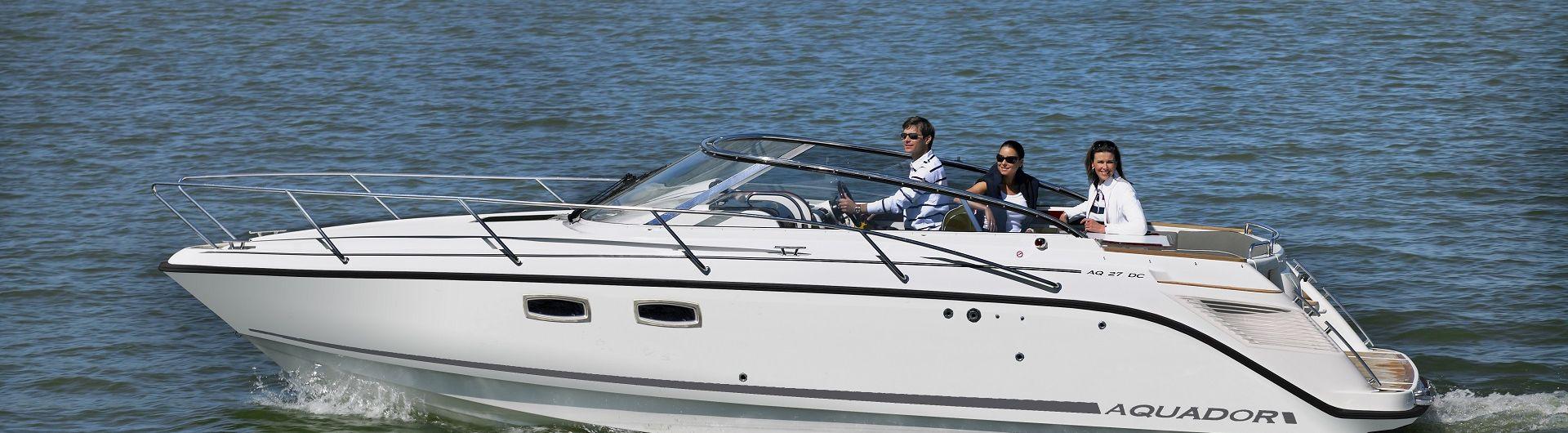 Sportboot Aquador 27DC header