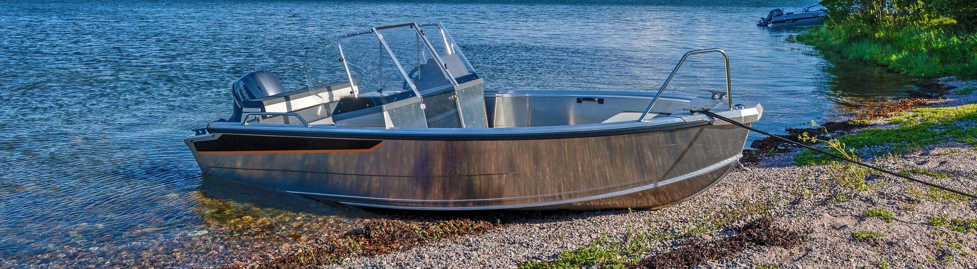 Sportboot Aluminiumboot Buster M2 Header