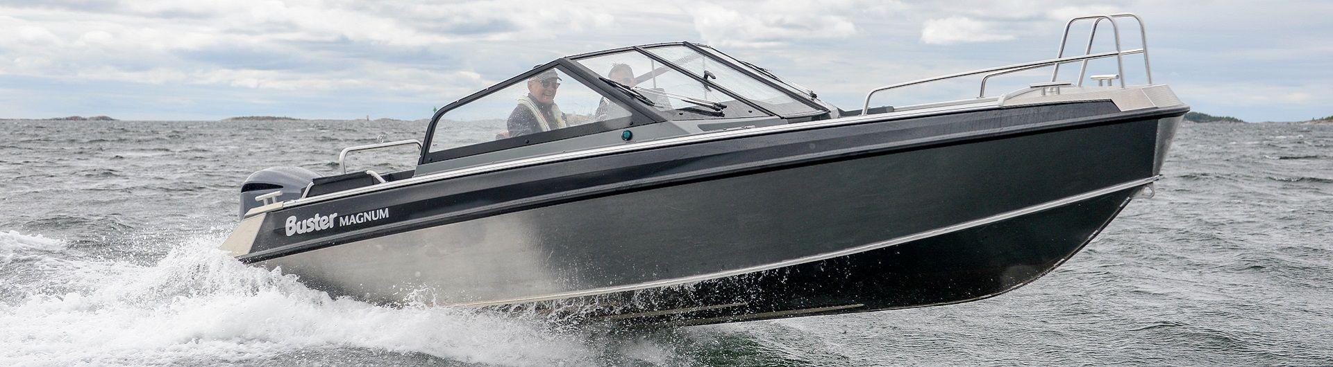 Sportboot Aluminiumboot Buster Magnum