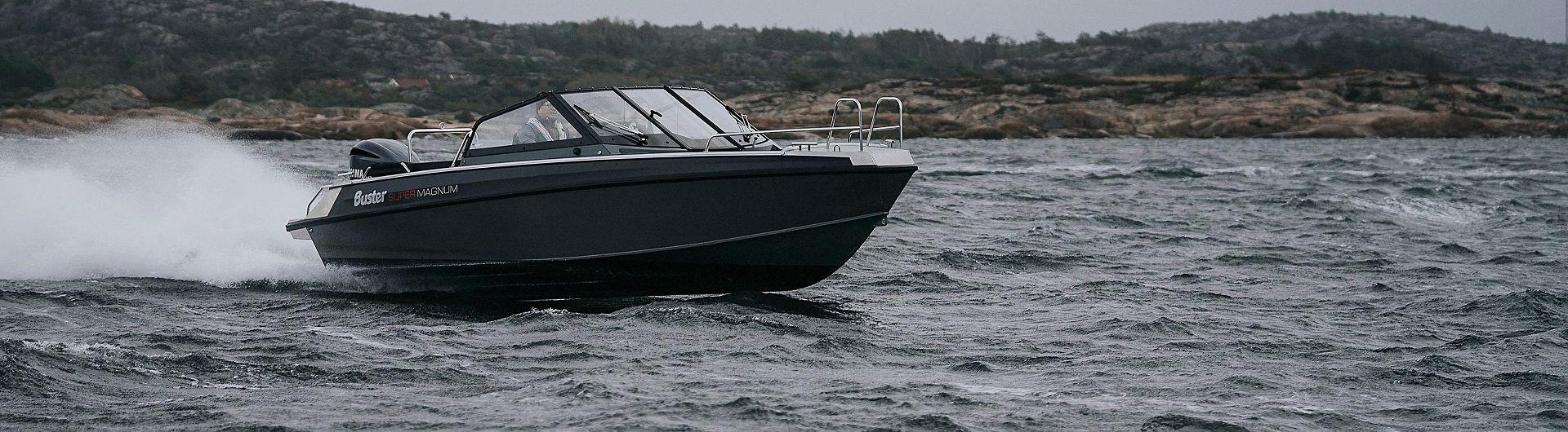 Sportboot Aluminiumboot Buster Supermagnum