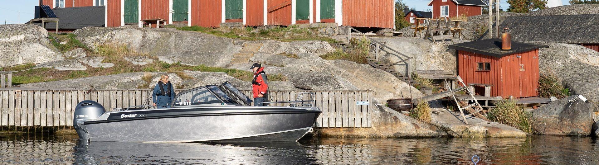 Aluminiumboot BUster XXL Header