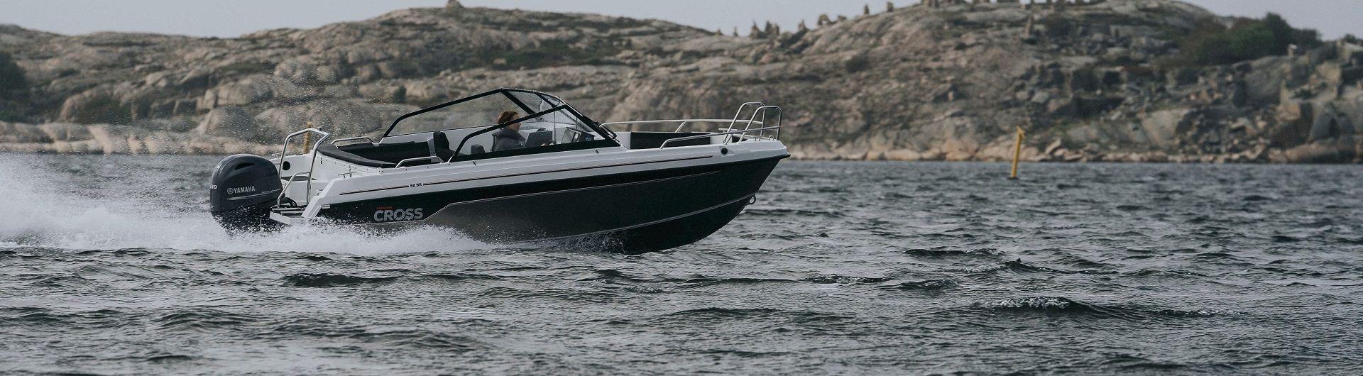 Sportboot Aluminiumboot Yamarin Cross 62 BR