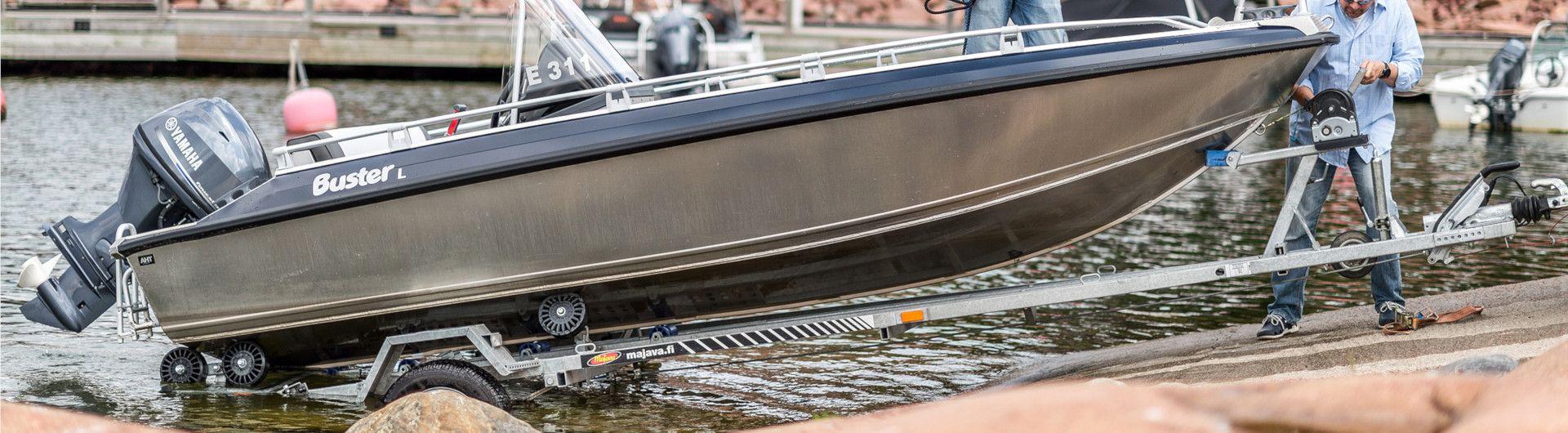 Sportboot Aluminiumboot Buster L1 Header