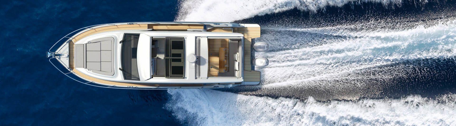 Sportboot Sealine C390v Header