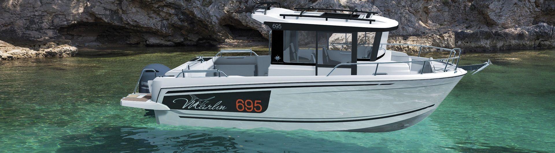 Sportboot Jeanneau Merry Fisher 695 Serie 2 Marlin Header