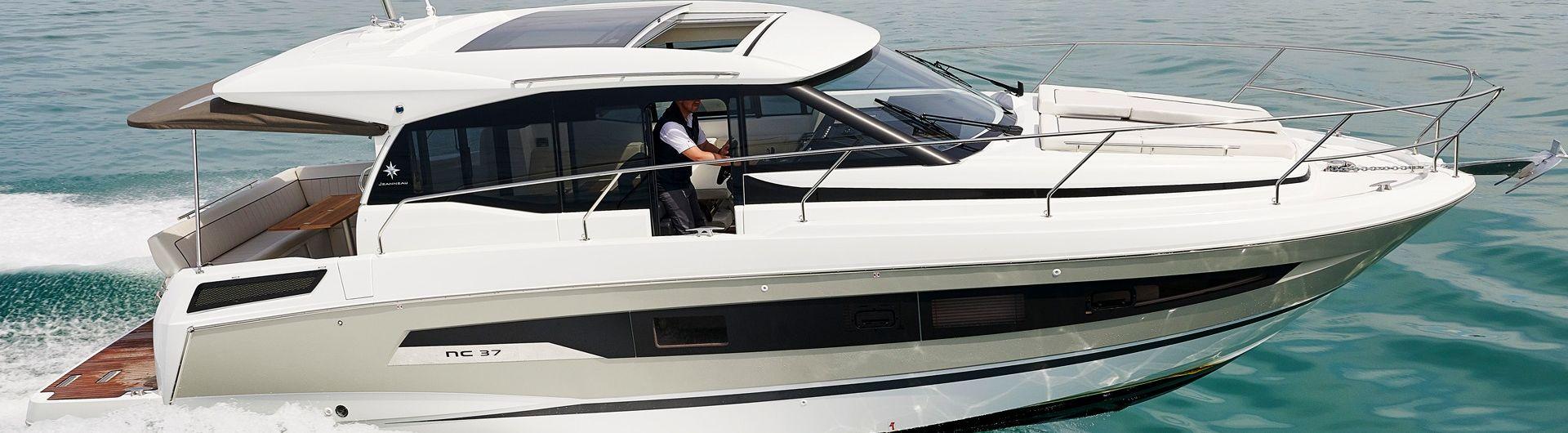 Sportboot Jeanneau NC 37 header
