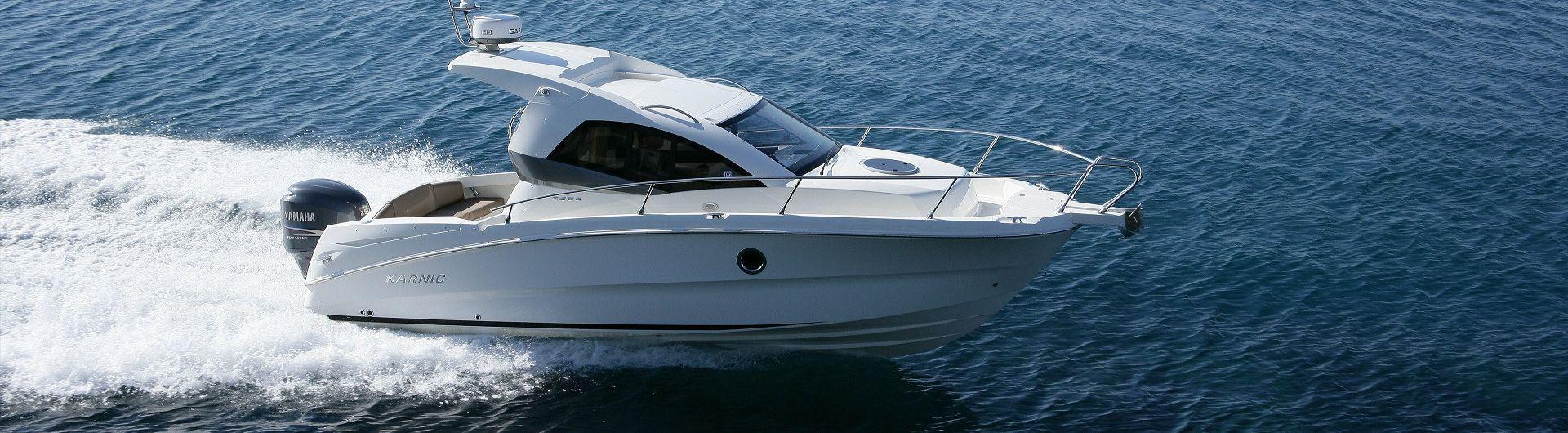 Sportboot Karnic 2455 Header