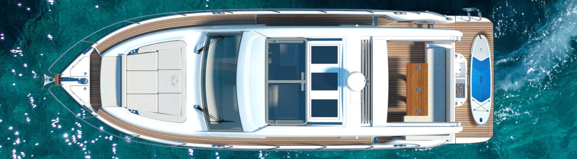 Sportboot Sealine C390 Header