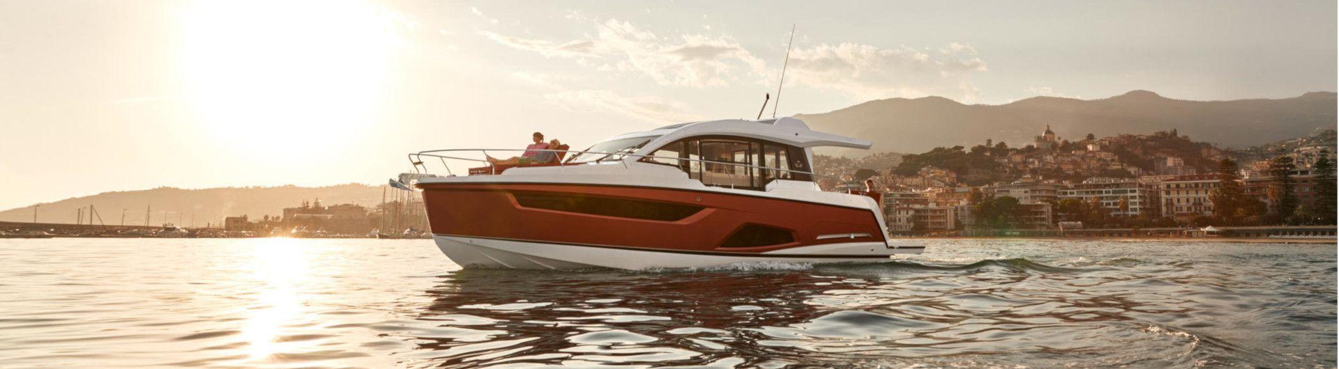 Sportboot Sealine C430 Header