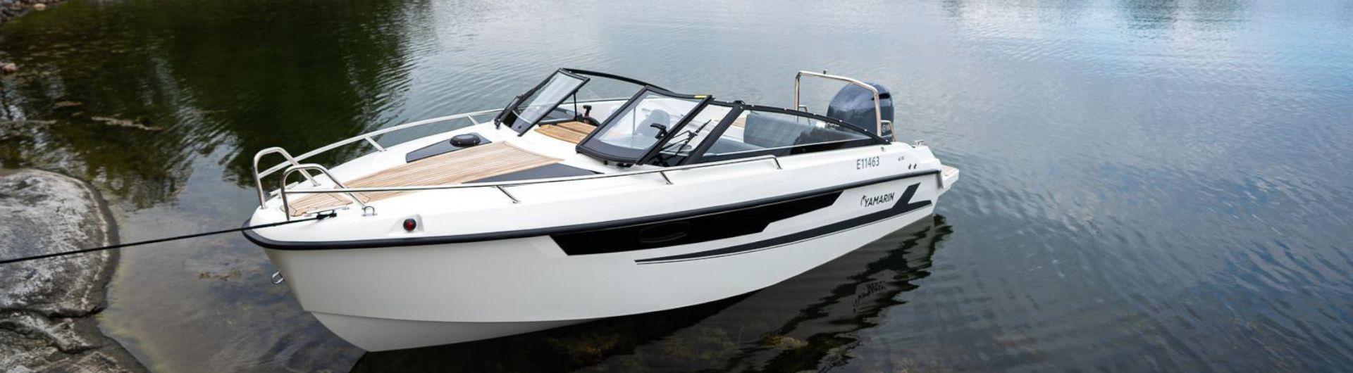 Sportboot Yamarin 63 Day Cruiser Header