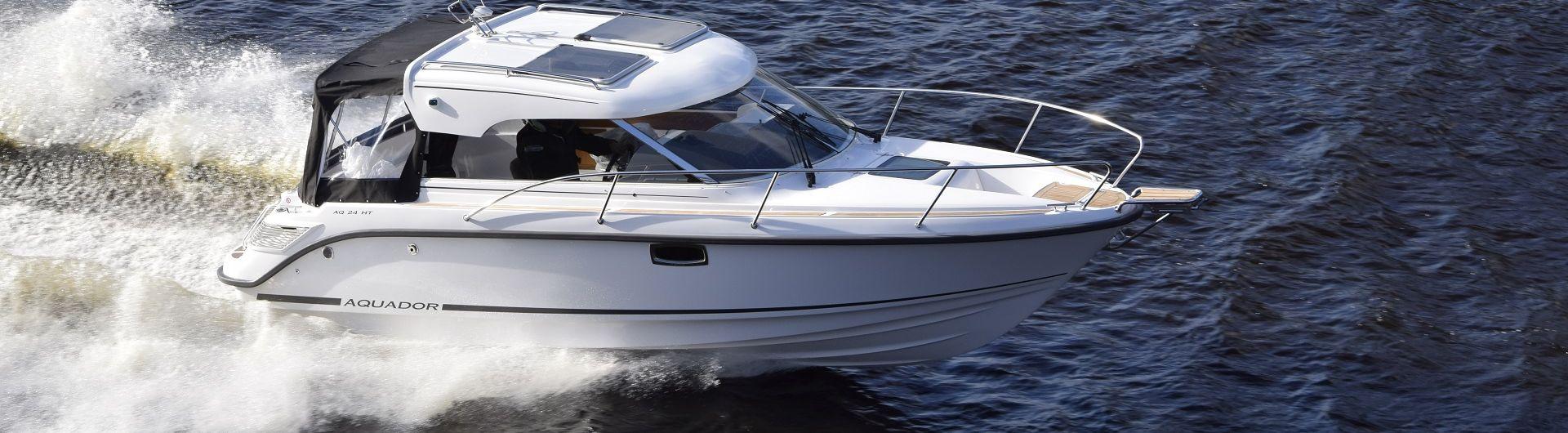 Sportboot Aquador 24DC header