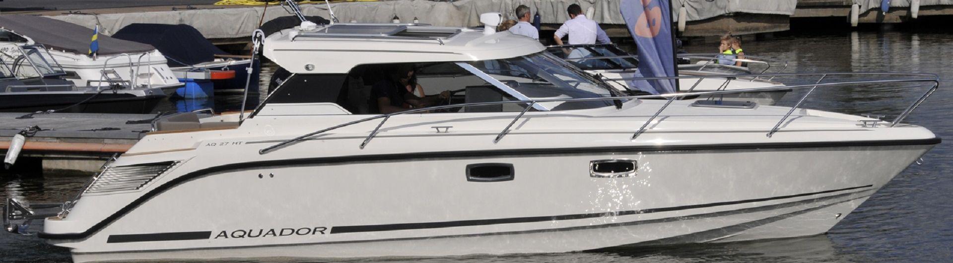 Sportboot Aquador 27HT header