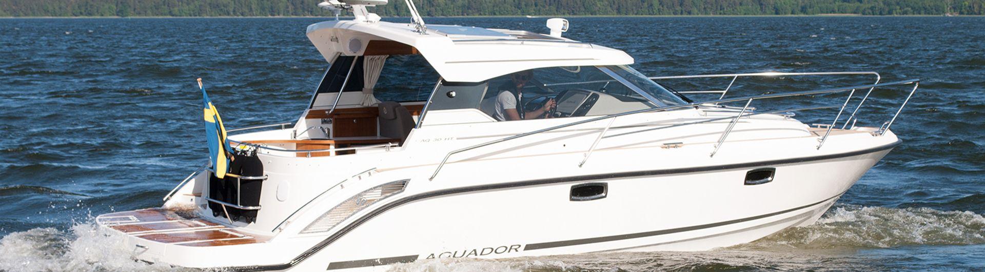 Sportboot Aquador 30HT  header
