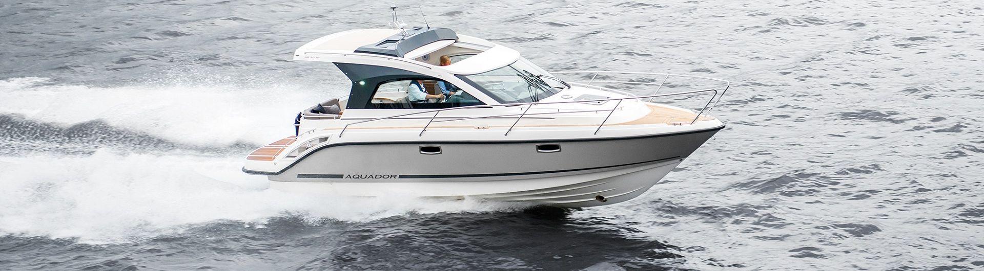 Sportboot Aquador 30ST  header