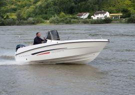Ausstellungsboot Karnic Smart1-48 mit Yamaha F50 HETL